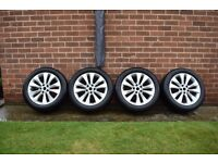 "Astra GTC 18"" original alloy wheels with tyres"