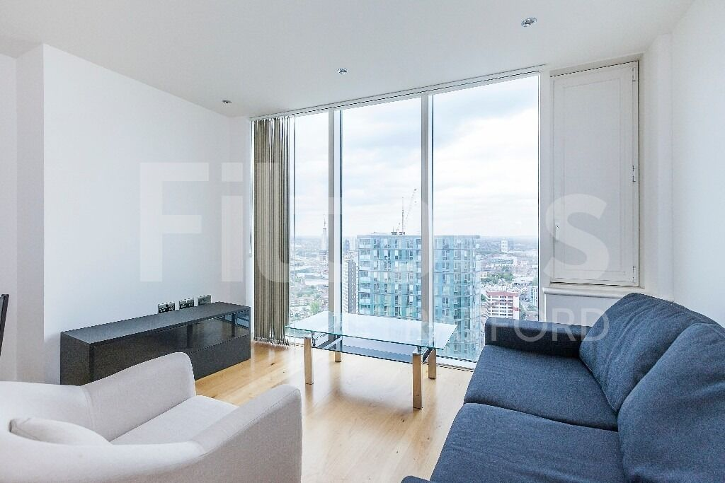 1 Bed Apartment to Rent in E15 - Spacious with Breathtaking Views