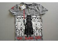 NEW Star Wars boys t-shirt age 6 years