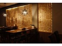 Japanese restaurant sushi chef /assistant and waiting staff wanted