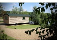 Shepherds Hut Holidays Norfolk free fishing included