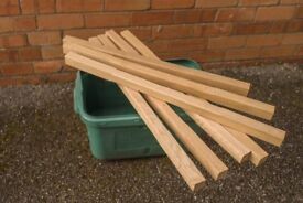 White Oak Wood Spindles