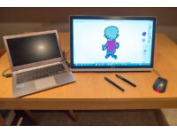 Wacom-like drawing tablet. Huion GT-220