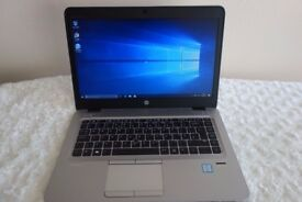 RRP £1299 - HP EliteBook 840 G3 Intel Core i7 14 Inches 16GB RAM 256GB SSD, Warranty, Windows 10