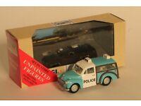 Corgi Classics Morris Minor Traveller Police die cast model 1:43 scale, boxed