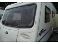 bailey ranger 500/5 2004 5 berth with lots of extras plus awning touring caravan