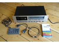 ALESIS ADAT LX20 LX 20 8 CHANNEL AD CONVERTER 8 TRACK MULTI TRACK MULTITRACK DIGITAL TAPE RECORDER