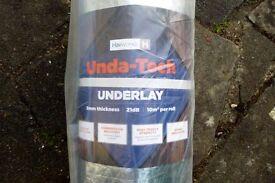 Underlay for wood floor