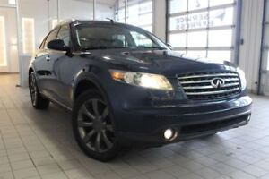 2005 Infiniti FX45 **RESERVE** TOIT OUVRANT PANORAMIQUE, MAG 20