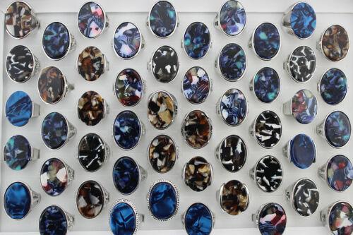 34pcs Wholesale Lots Charming Jewelry Mixed Big Shell Lady