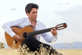 Flamenco and classical guitar lessons!