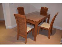 TABLE & 4 CHAIRS - VERY GOOD CONDITION