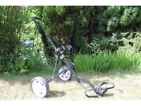 GOLF TROLLEY perfect for a child golf bag