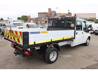 FORD TRANSIT 125 T-350 DOUBLE CAB TIPPER – 13-REG