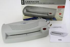 NEW TCM A4 LAMINATOR, Seal photos, documents in a clear pouch