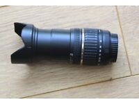 Tamrom 18mm - 200mm zoom lens for Canon EOS fitting