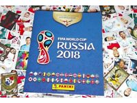 Panini World Cup Russia 2018 Sticker swaps only
