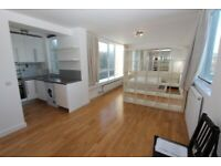 504AH-Bright Quiet Modern STUDIO FLAT (5th Floor)with Gas & WiFi Included & Communal Garden-Highgate