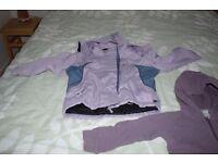 winter ski coat and sweatshirt, size 5-6 years