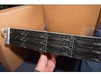 Netgear ReadyNAS 4200 iSCSI 18TB Network Attached Storage Array 2U Rack