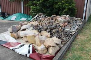FREE Sandstone Rocks, Concrete Rubble and other Georges Hall Bankstown Area Preview