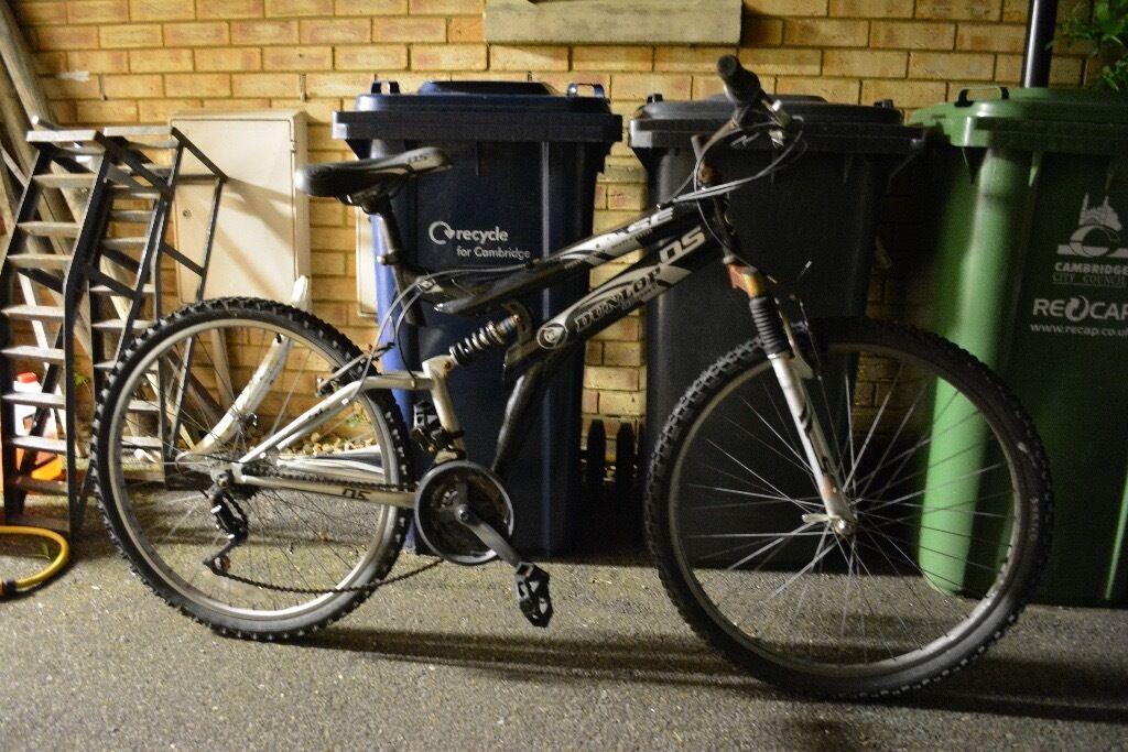 Dunlop Dual suspension bike full suspension mountain bike MTB road