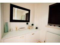 Large wall mirror - great for hallway