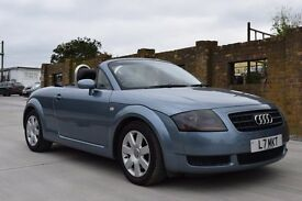 AUDI TT CONVERTIBLE 2004 SAME OWNER SINCE 2005, FULL AUDI MAIN DEALER HISTORY, 1 YEARS MOT.