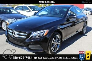 2015 Mercedes-Benz C-Class C300 4MATIC PANORAMIC/LED/NAVIGATION/