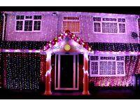 Asian wedding house lights - 07825169266