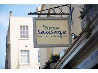 WANTED Chef de Partie for The Clifton Sausage Bristol