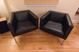 Leather Chairs for Home, Office or Study