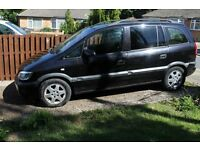 Vauxhall Zafira 2002 LPG / Petrol, spares or repairs as MOT just Expired