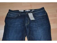 Men's Bench loose fit jeans 32 waist 32 leg Brand new with tags