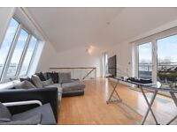Queen of Denmark Court - A very spacious two double bedroom duplex apartment with private terrace