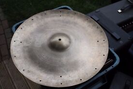 """5-Star Super Zyn 20"""" China cymbal - With rivet holes - Vintage - '60s/'70s"""