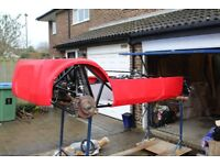 Part-built Westfield SEiW kit car (2.0L Ford Zetec) plus engine, gearbox and many other parts