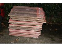 Roof tiles, terracotta Clay reclaimed double Roman