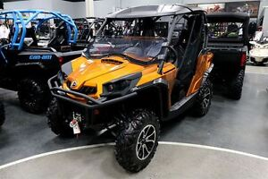 2016 can-am Commander 1000 Limited $65.59/week (120 months@7.99%