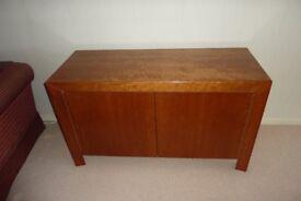 Modern cherry wood sideboard