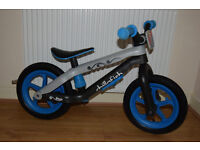 Chillafish Funky Lightweight Boys Balance Bike