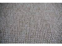 Oatmeal carpets, good condition.