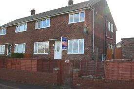 ** NO ADMIN FEE ** Spacious 3 bedroom double fronted houseon Leam Lane Est *DSS Considered*