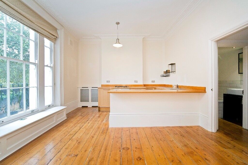 STUNNING 1 DOUBLE BEDROOM FLAT WITHIN PERIOD CONVERSION ON A BEAUTIFUL SQUARE IN ISLINGTON, N1!