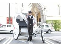 Pedicab/Rickshaw Drivers Wanted! Be your own boss (Job listing)