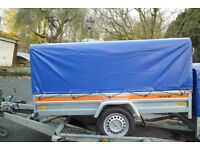 LARGE BAGGAGE TRAILER 4 x 8 SOFT CANOPY BRAND NEW
