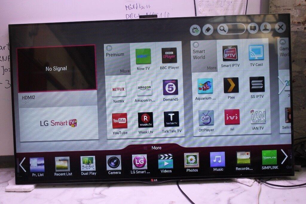 """LG 55LA860W 55"""" 3D 1080p HD LED Internet TV"""