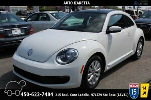 2013 Volkswagen Beetle TDI, COMFORTLINE,TOIT,SIEGES CHAUFF