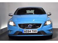 VOLVO V40 1.6 D2 R-DESIGN 5d 113 BHP (blue) 2014