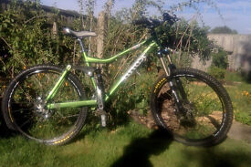 Kona Dawg Supreme Full Suspension MTB, High Spec.